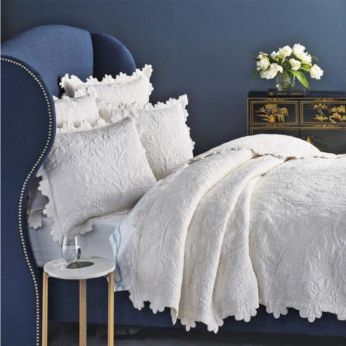 Be-you-tiful Home Kayla Quilt Set Over Size King Ivory