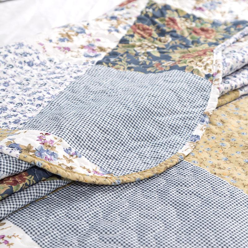Bedsure Quilt Set Luxury Bedroom Bedspread Plaid