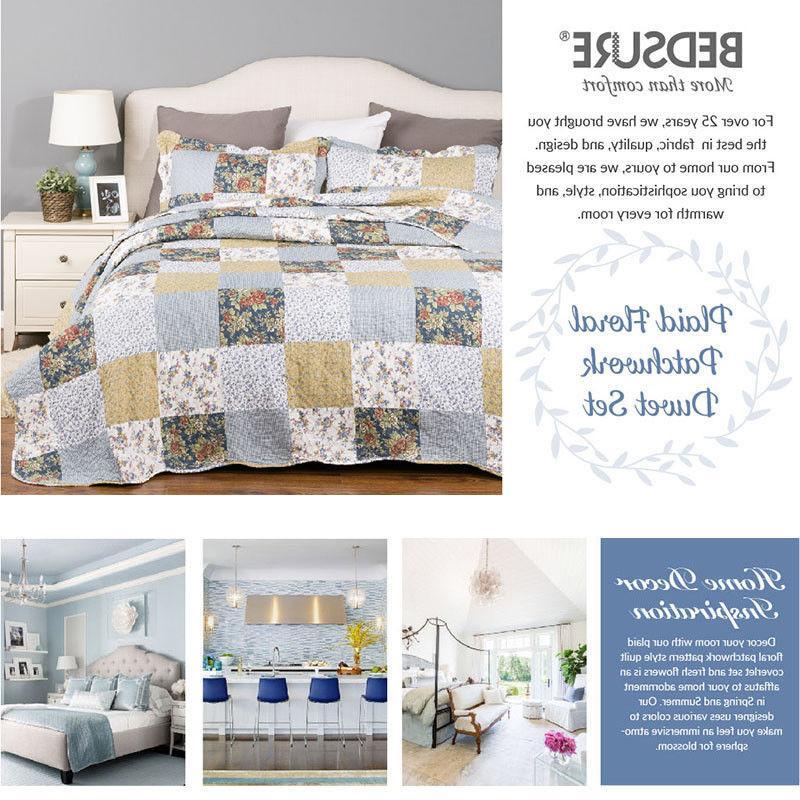 Bedsure Quilt Luxury Bedspread