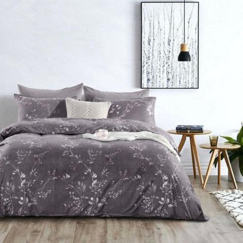 Bedding Set Pillowcases Print Duvet Cover Microfiber