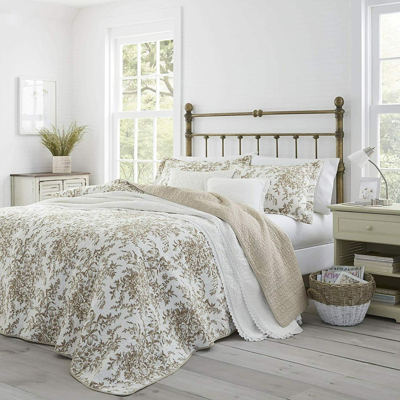 bedford cotton reversible quilt