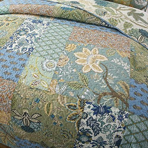 NEWLAKE Bedspread with Real Stitched
