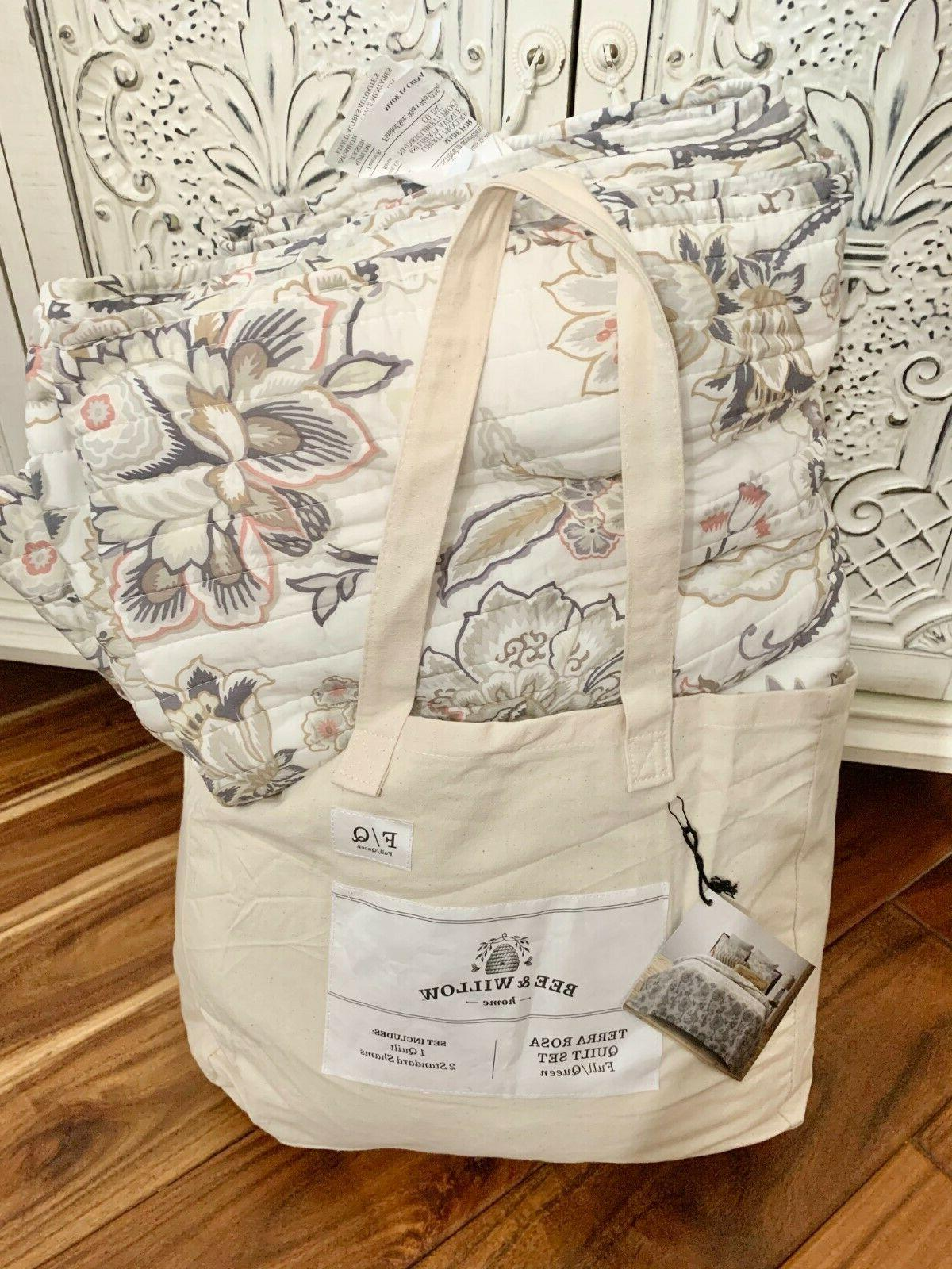 bee and willow home terra rosa reversible