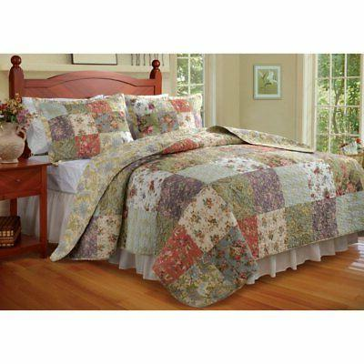 blooming prairie 2 piece quilt set