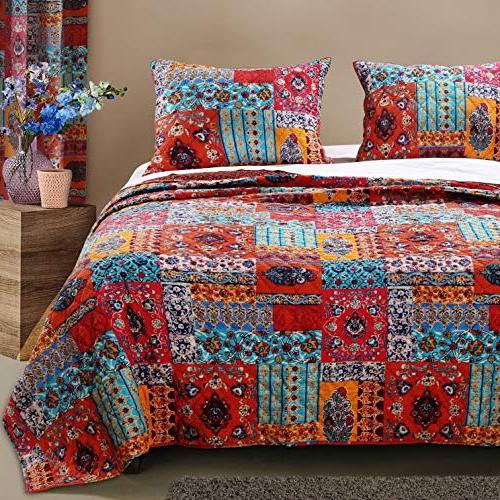 bohemian bedding boho chic quilt