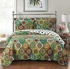 Bonnie Queen Size, Over-Sized Coverlet 3pc set, Luxury Micro