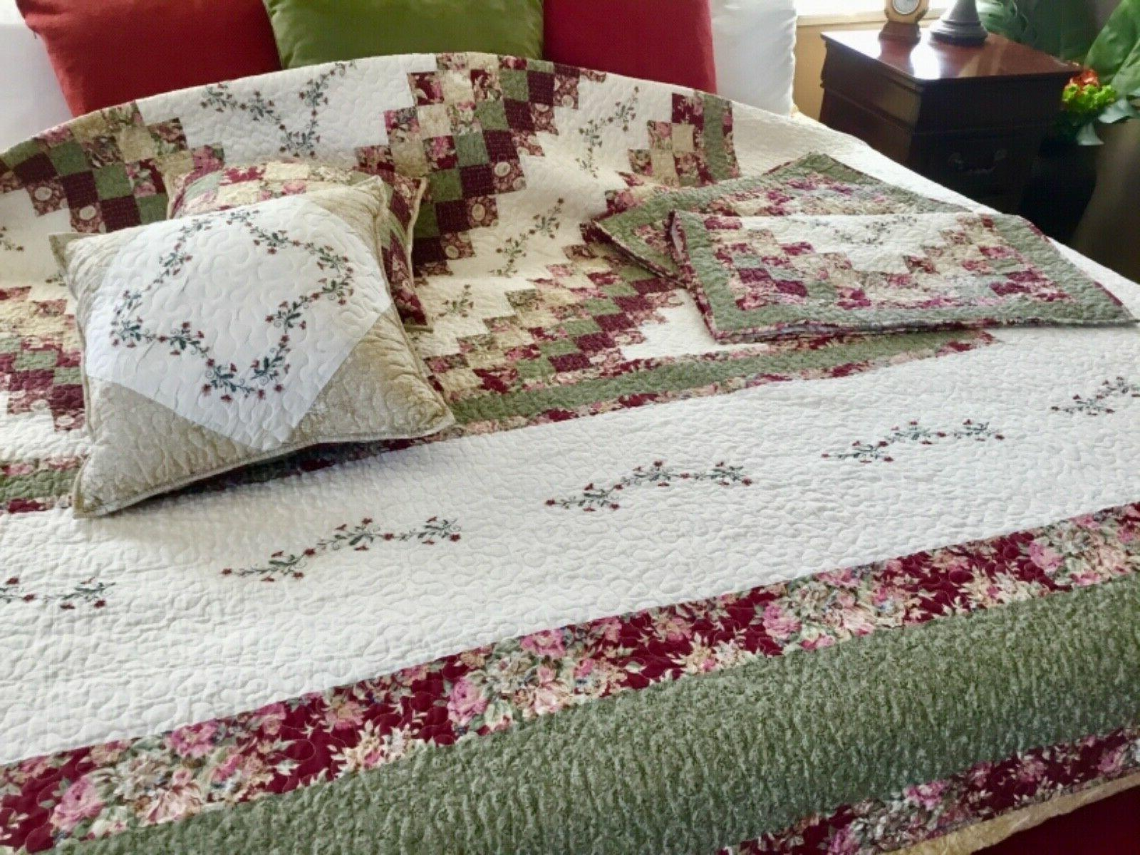Home Quilt King with HTF NEW
