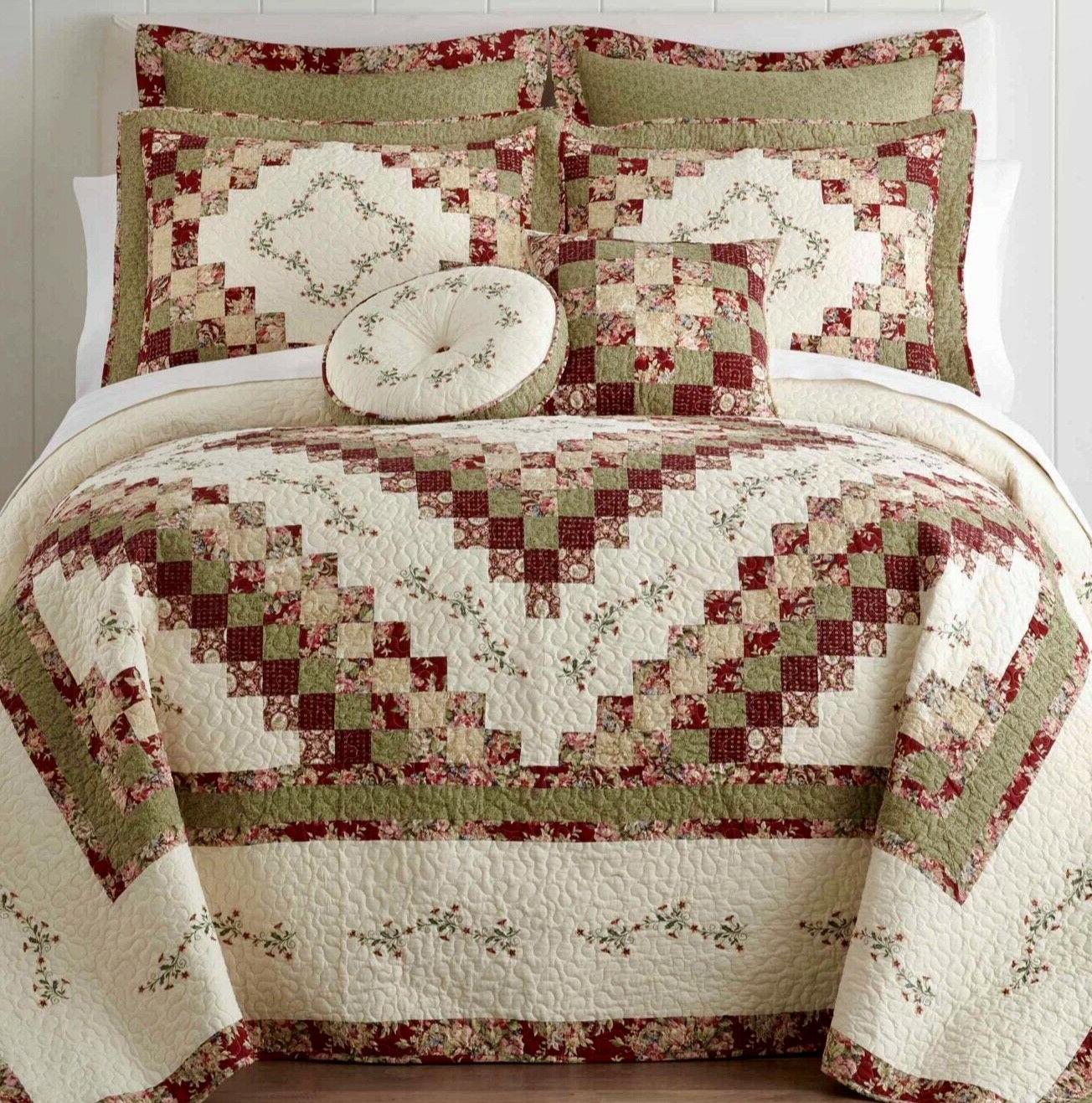 cassandra quilt king set with 2 shams