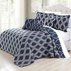 Home Soft Things Charleston Printed Quilted 6 Piece Bed Spre