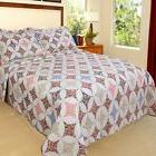 Bedford Home Charlotte Printed 2-Piece Quilt Set, Twin