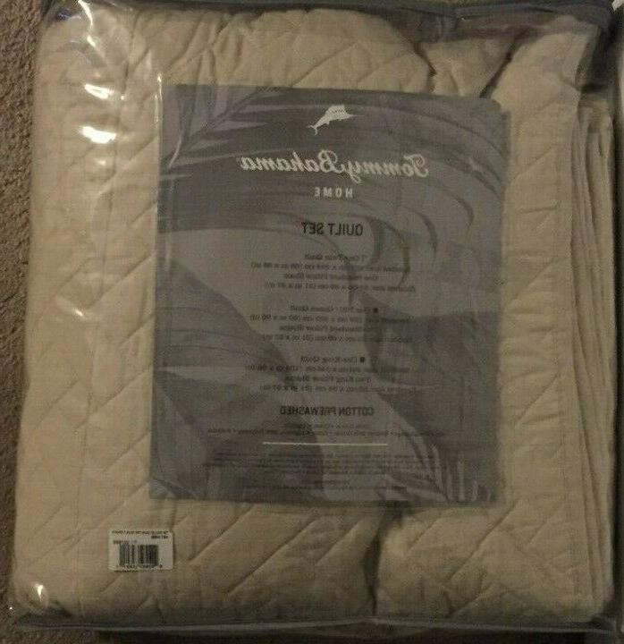 Tommy Reversible Piece Quilt Set