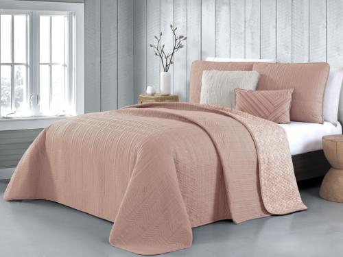 Classic Avondale Manor Tara 5-Pieces Quilt Set King Blush Ho
