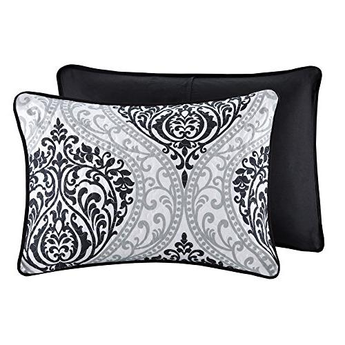 Comfort Spaces - Mini Set 3 - and Damask Full/Queen Size, Includes 2