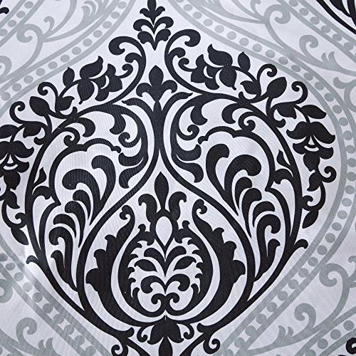 Comfort Mini Set 3 Piece and - Printed Damask Pattern Size, 2 Shams