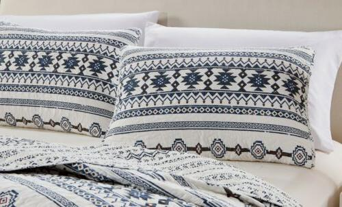 Colby 3-Piece Tribal Bedspread Quilt