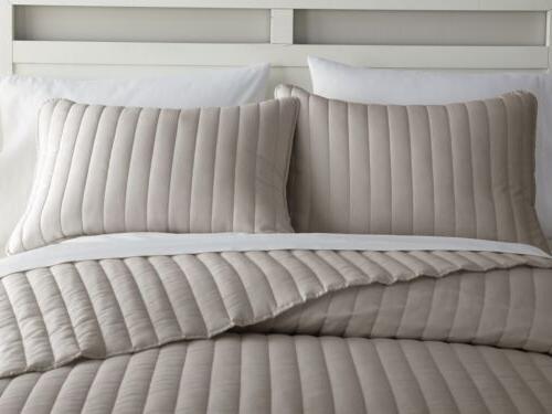 Chezmoi Channel Cotton Bedspread Quilt