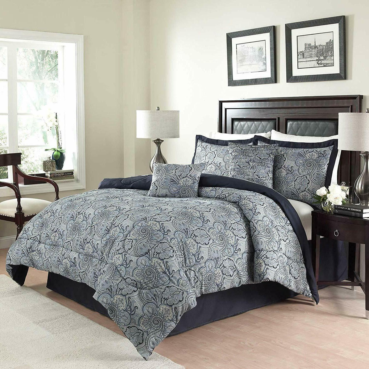 Comforter Set, King,Traditions By Waverly 14413BEDDKNGPOR Pa