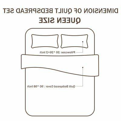 NEWLAKE Bedspread Sets-Reversible Birds