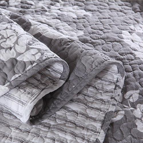 NEWLAKE Cotton Patchwork Quilt Vase Pattern,