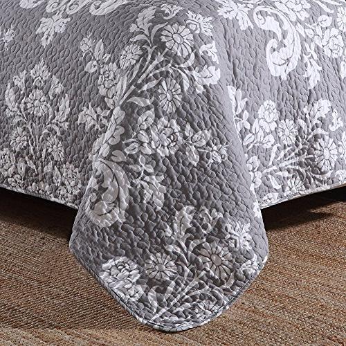 NEWLAKE Quilt Grey Vase Size