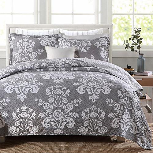 cotton patchwork bedspread quilt sets