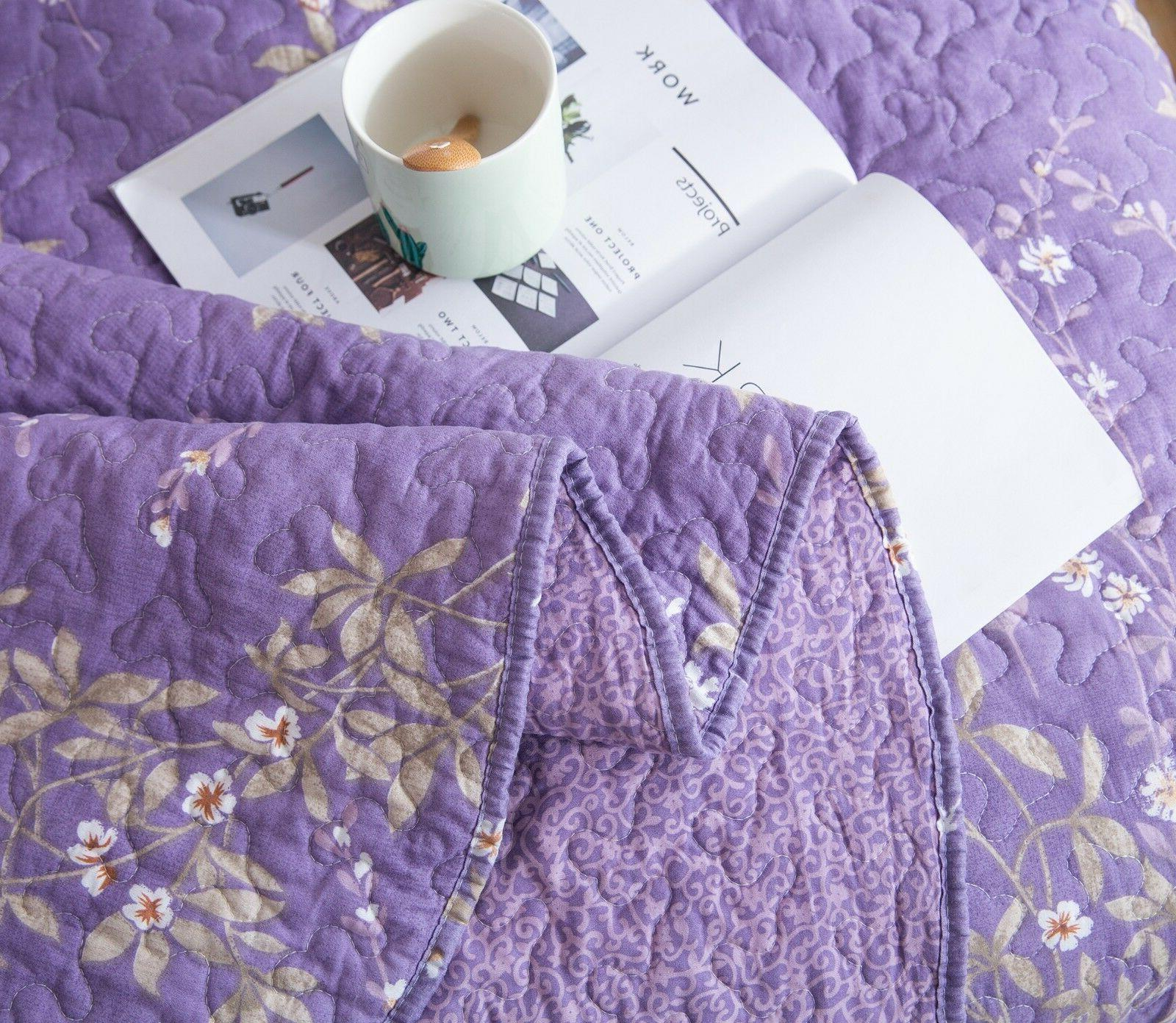 Kasentex Country-Chic Printed Quilt Floral