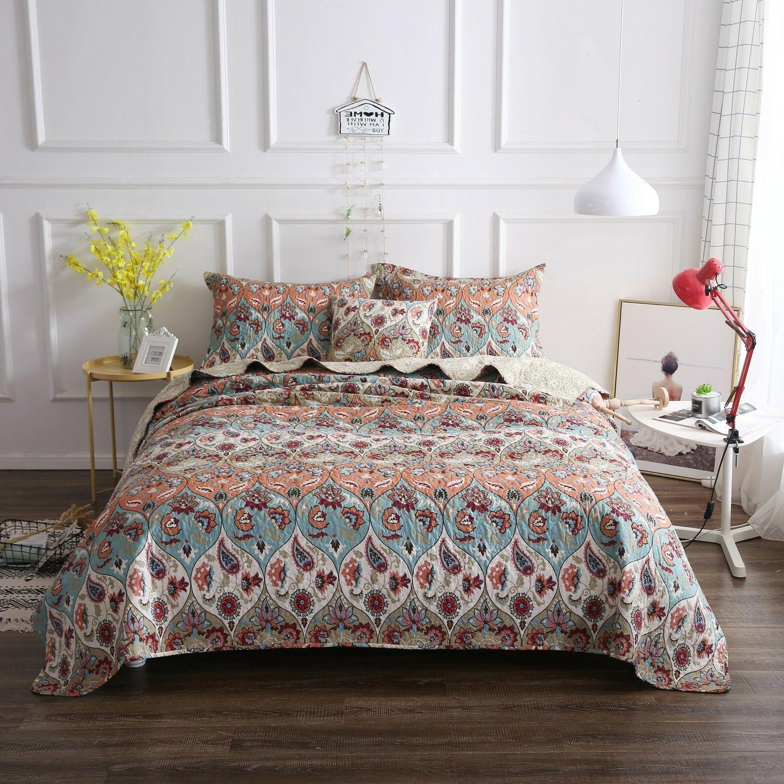 DaDa Garden Quilt Coverlet Bedspread