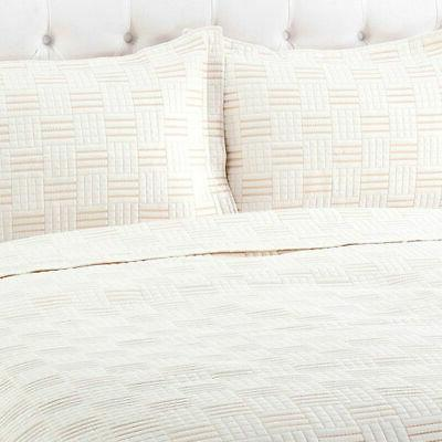 Cozelle Darcy Quilt Ivory -
