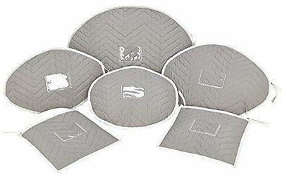 deluxe microfiber serving platter storage