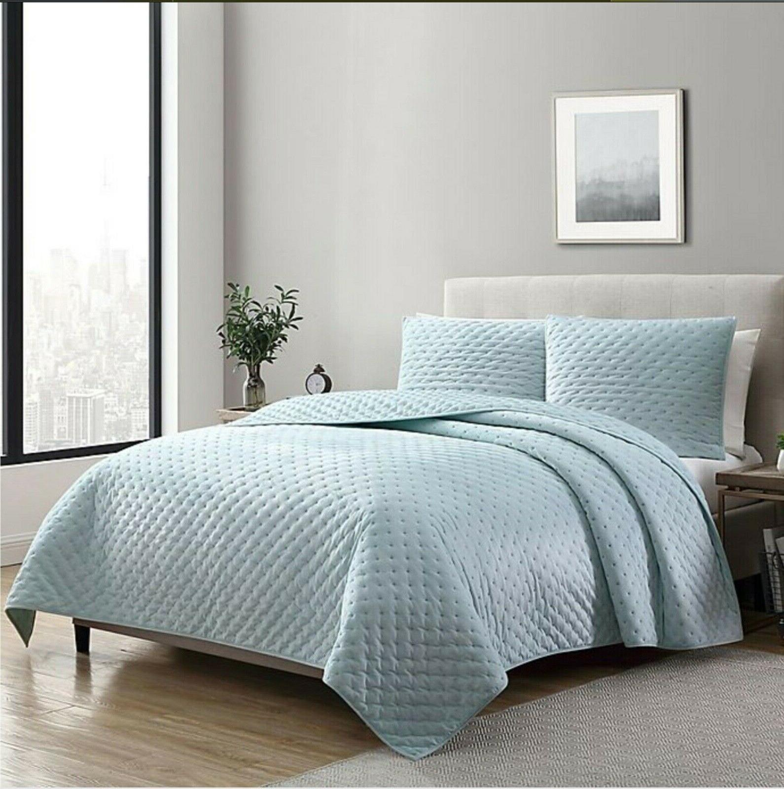 dreamy lux quilt set full queen sea