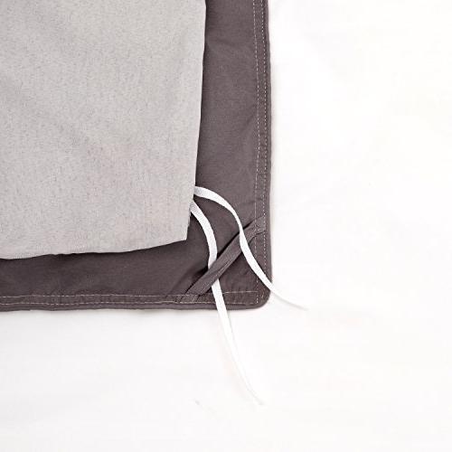 Bedsure Duvet Cover with Stripe Design Floral Design,King-2 -Ultra Soft Hypoallergenic