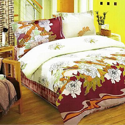 early peony 100 percent cotton 4pc comforter