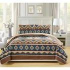 egypt quilted 3 piece bedspread set