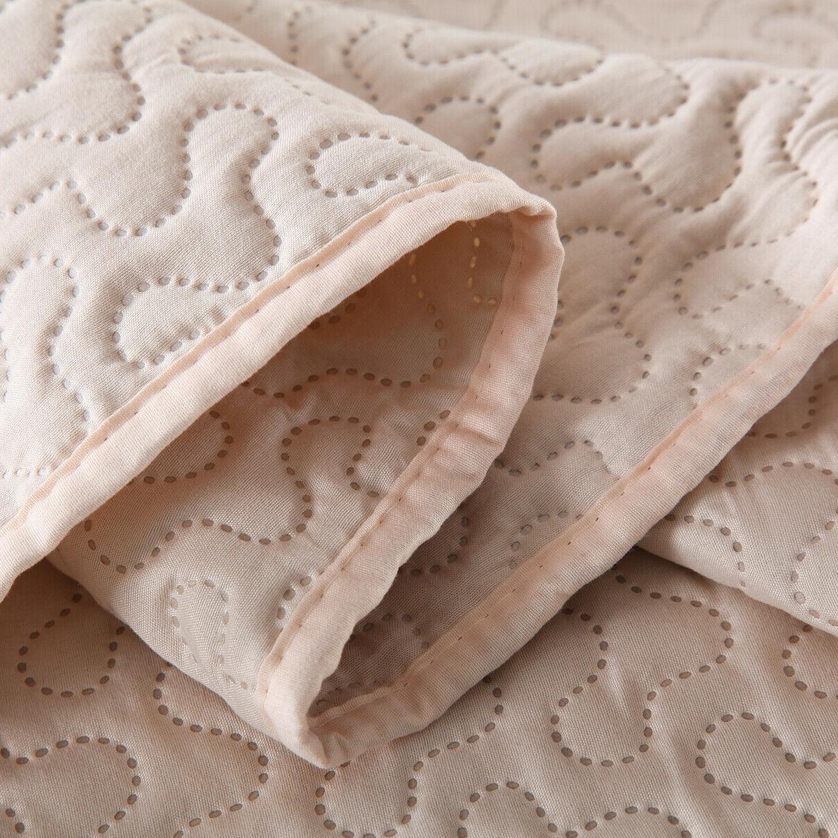 Embossed Coverlet Quilt Bedding Queen