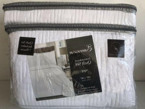 emerson collection luxury quilt set