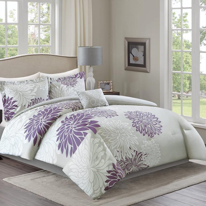 Comfort Set-Modern Floral Design All Season Down Alternati
