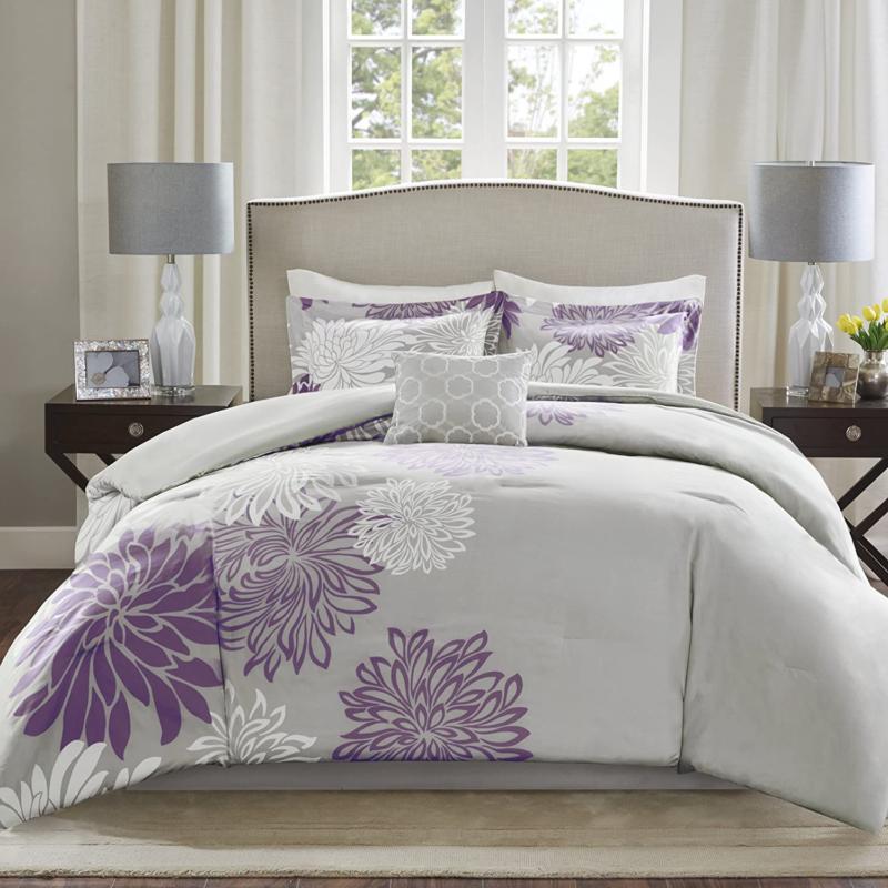 enya comforter set modern floral design all
