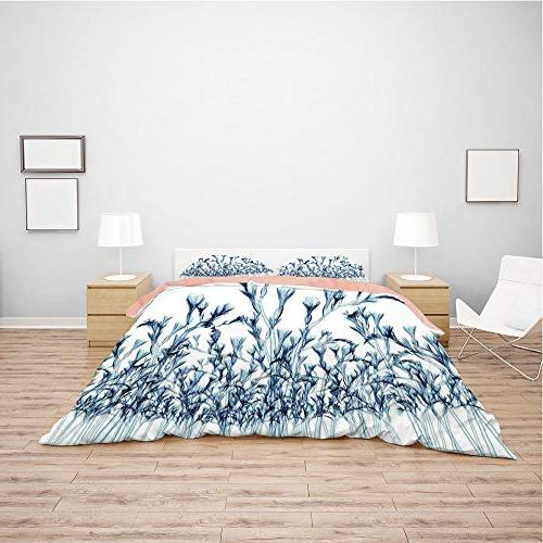 Flannel Queen Size Set for 5ft Holiday Customized bedding for and children,Xray Sized Bottom X ray