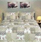 Tache Home Fashion Floral Outing Quilt/Coverlet Set