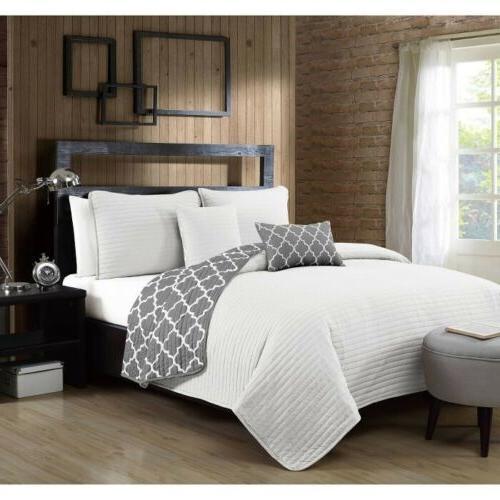 geneva home fashion griffin quilt and sham