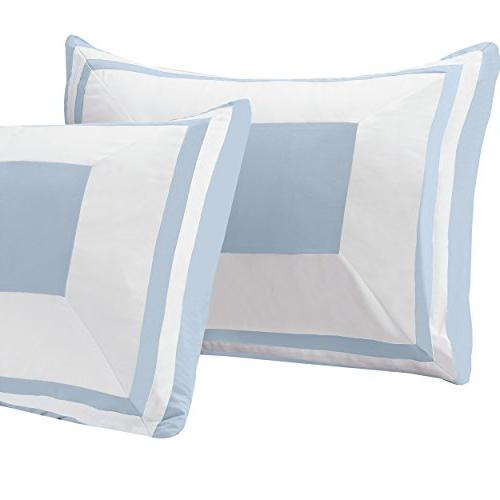 Superior Comforter Sham, Luxury with Microfiber Shell, All Fill Light