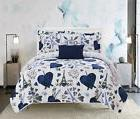 grand palais 5 piece reversible quilt set