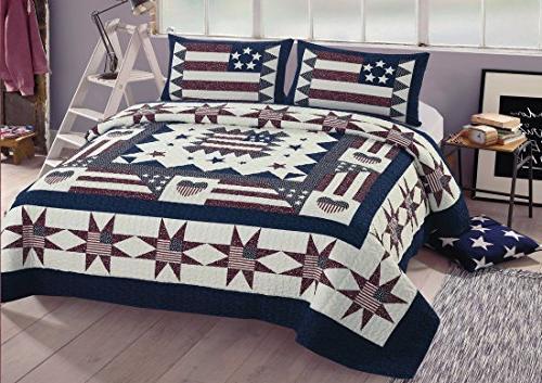 great america queen quilt bedspread