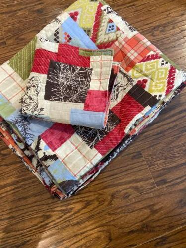Greenland Home Rustic Lodge Quilt Twin
