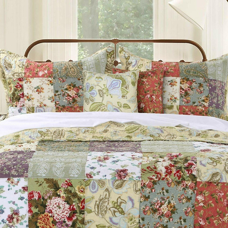 Greenland Home Cotton Patchwork Quilt 5-Piece