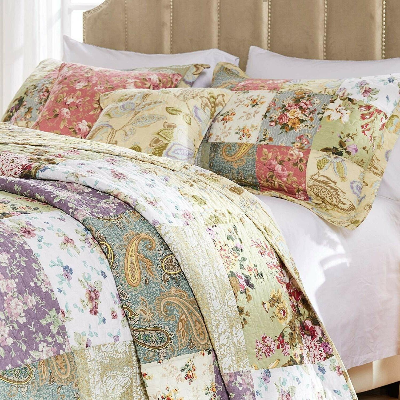 Greenland Home Cotton Quilt 5-Piece