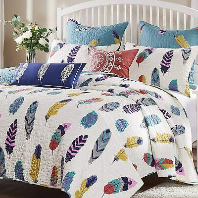 Greenland Home Catcher Quilt 3-Piece Full/Queen
