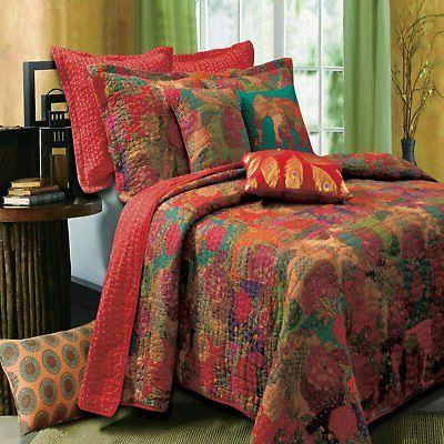 greenland home jewel quilt and sham set