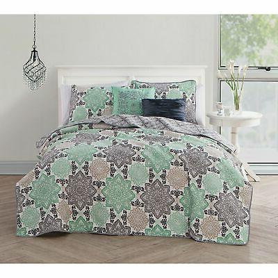 Avondale 5-piece Quilt Set