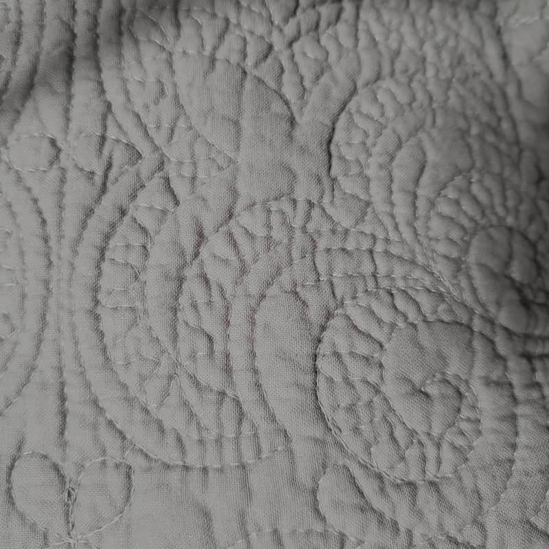Grey Quilt Set / Shams American